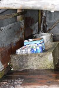 渓流冷やしビール